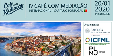 IV Café com Mediação Capítulo Portugal bilhetes