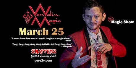 Palm Harbor (18+ Comedy Magic Show) Cory Van Valin: Magic Redefined tickets