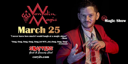 Palm Harbor (18+ Comedy Magic Show) Cory Van Valin: Magic Redefined