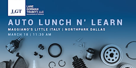 Auto Lunch n' Learn tickets