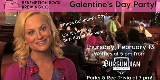 Galentine's Day Trivia at Redemption Rock Brewing
