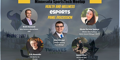 Health and Wellness in eSports tickets