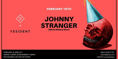 ROVE Presents: Johnny Stranger (Album Release Show) tickets