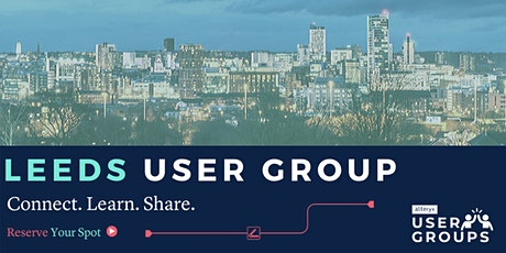Leeds Alteryx User Group Q1 2020 Mtg tickets