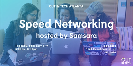 Out in Tech ATL | Speed Networking at Samsara