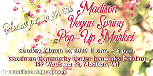 Madison Vegan Spring Pop-Up Market