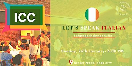Let's speak Italian - Jan 2020 tickets