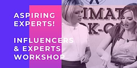 Influencers & Experts Workshop tickets