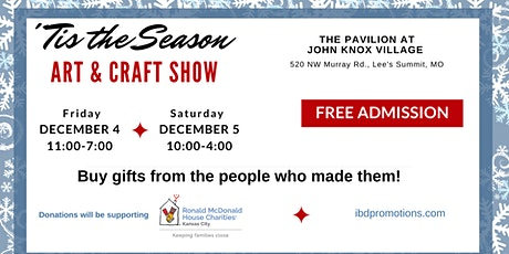 'Tis the Season Art & Craft Show tickets