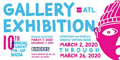 Pin-Up Show Gallery Exhibition Opening Reception tickets