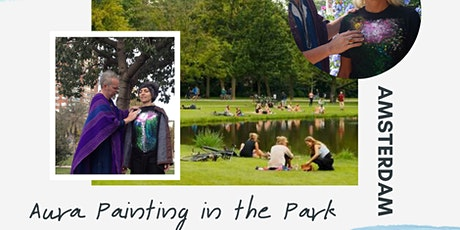 Have Your Aura Painted in the Vondel Park, Amsterdam tickets