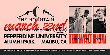 The Mountain featuring Bryan & Katie Torwalt and Chris Renzema tickets