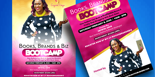 Books, Brands & Biz Bootcamp