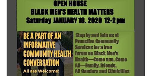 Black Men's Health Matters