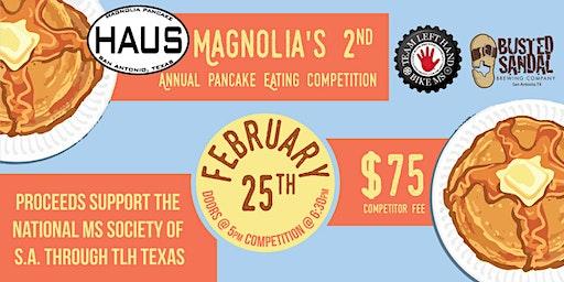Magnolia Pancake Haus/Team Left Hand Tx: Pancake Eating Contest
