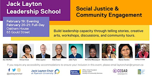 Jack Layton Leadership School