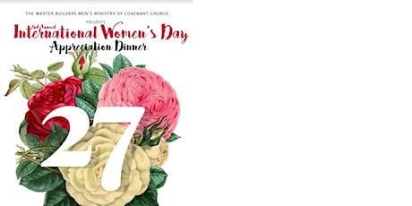 2nd Annual International Women's Appreciation Dinner tickets
