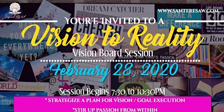 Vision to Reality 2020 tickets