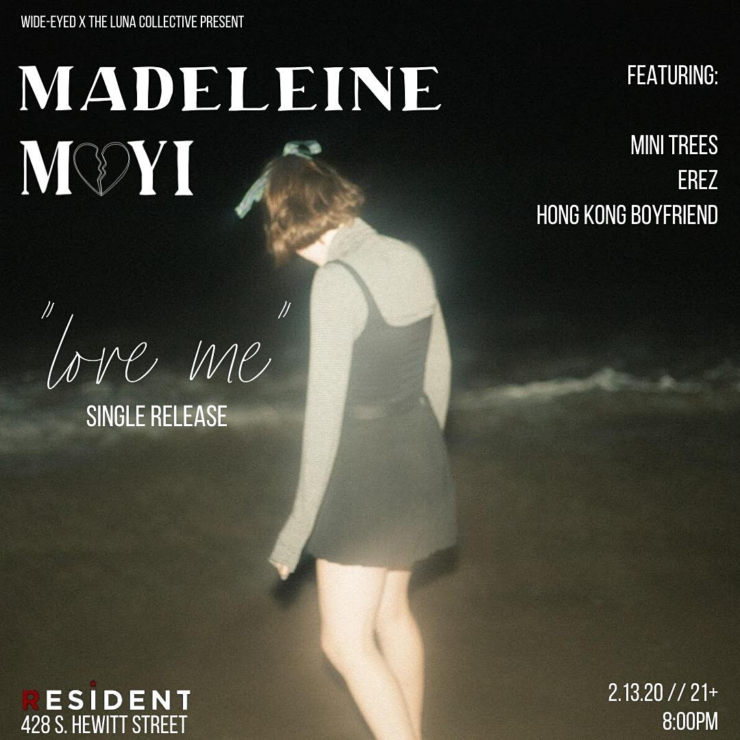 Wide-eyed x The Luna Collective Present: Madeleine Mayi