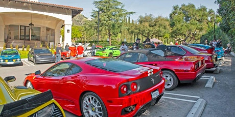 Cars and Coffee tickets