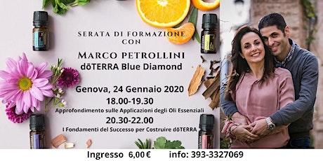 Serata di Formazione con Marco Petrollini dōTERRA Blue Diamond biglietti
