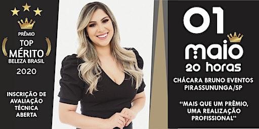 PRÊMIO TOP MÉRITO BELEZA BRASIL 2020