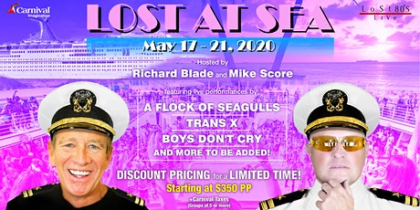 LOST AT SEA 80s CRUISE  and 80s Beach Party on Catalina Island tickets