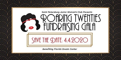 GFWC St. Petersburg Junior Woman's Club Roaring 20's Fundraising Gala tickets