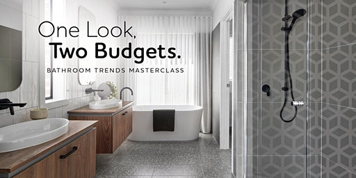 Metricon Masterclass Series: Bathroom Trends - One Look, Two Budgets.