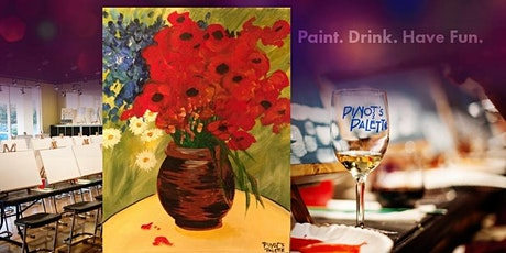 Van Gogh's Daisies and Poppies with Tuesday's 1/2 Off Wine Bottles! tickets