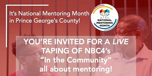 """National Mentoring Month - """"In the Community"""" Taping w/Molette Green!"""