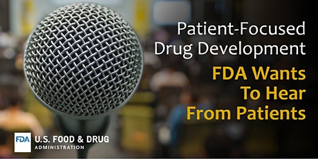 Public Meeting on Patient-Focused Drug Development for Stimulant Use Disorder tickets