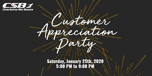 CSB 10 Year Anniversary and  Customer Appreciation Party