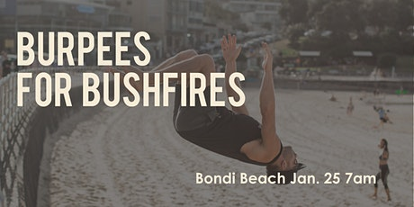 BURPEES FOR BUSHFIRES tickets