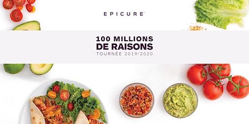 Epicure 100 Million  Raisons -Gatineau