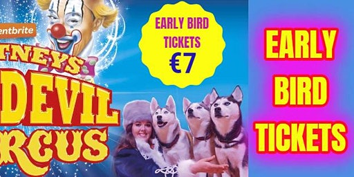 Carlow Dr Cullen Park - Early Bird Tickets