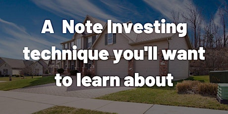An Introduction to Note Investing tickets