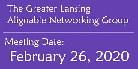 Greater Lansing Alignable Networking Group tickets