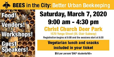 Bees in the City-- 20th Anniversary tickets