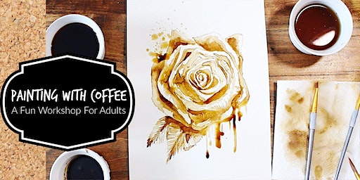 Painting With Coffee- A Fun Workshop For Adults