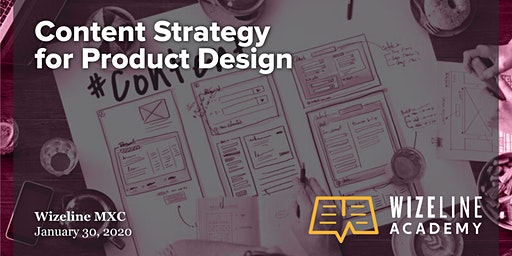 Design Session: Content Strategy for Product Design