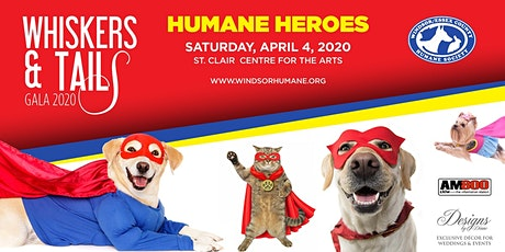 2020 Whiskers & Tails Gala - Humane Heroes tickets