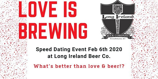 Love Is Brewing Speed Dating Event!