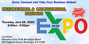 International & Multicultural Business Expo 2020 -...