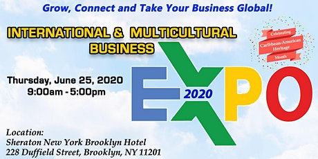 International & Multicultural Business Expo 2020 - June 25, 2020 tickets