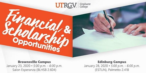 Financial and Scholarship Opportunities Workshop (Edinburg)