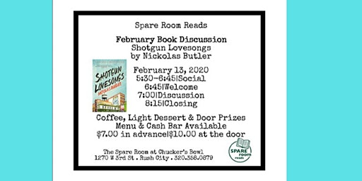 Spare Room Reads February Discussion