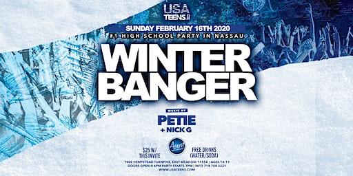 Winter Banger Feb 16th at Aura in Nassau!