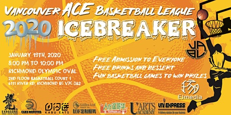 Vancouver ACE Basketball League & Opening Ceremony 2020 tickets