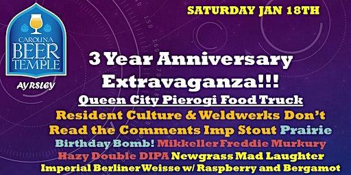 Carolina Beer Temple 3 Year Anniversary Extravaganza!!!!